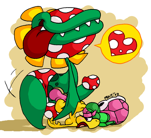 mario in time princess partners luigi shroob and The land before time hyp