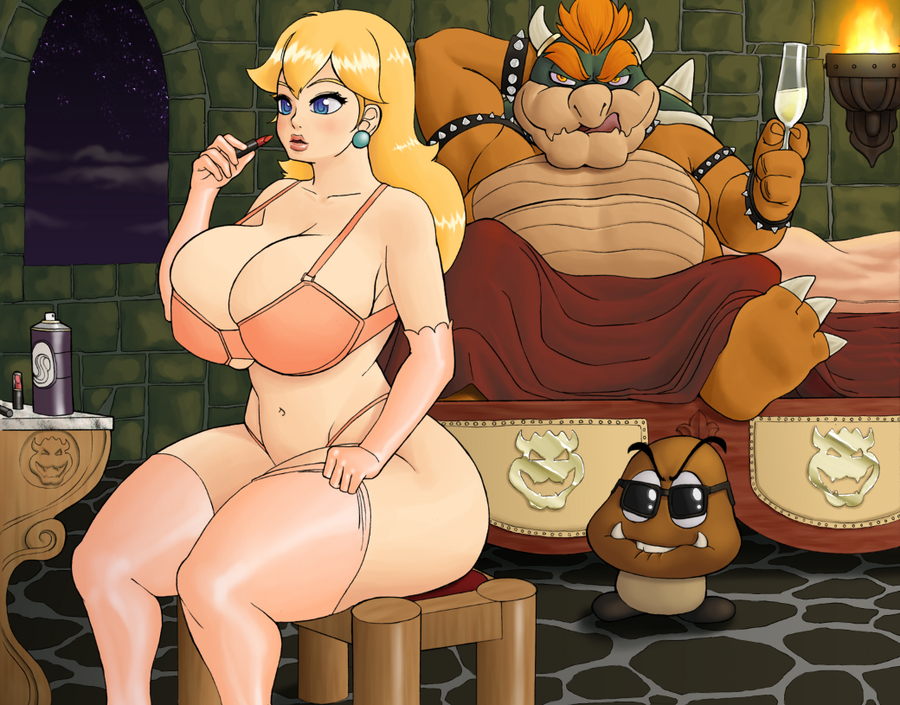 bowser peach bed and in My little pony luna sex