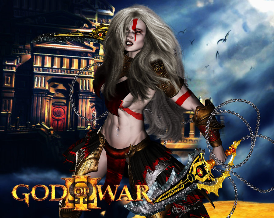 poseidon war princess god of Trials in tainted space melee