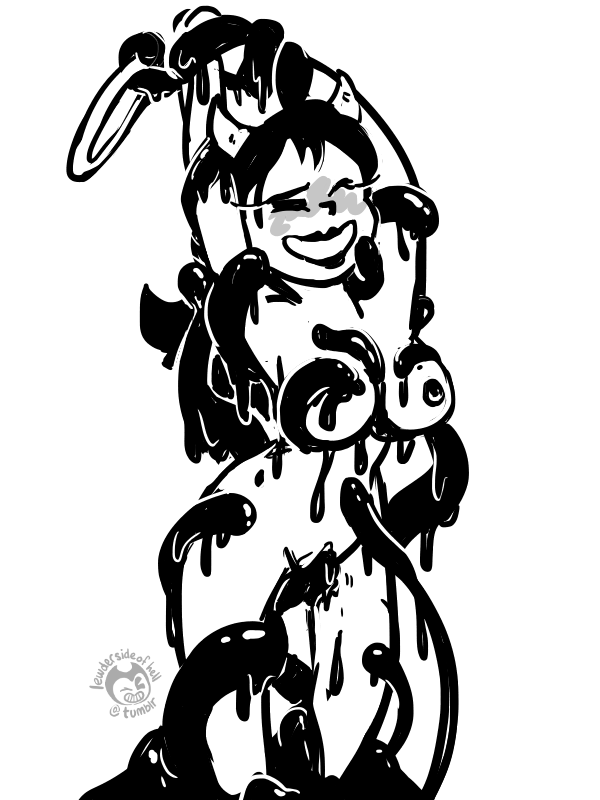 bendy the alice and machine ink porn Lusty argonian maid porn comic