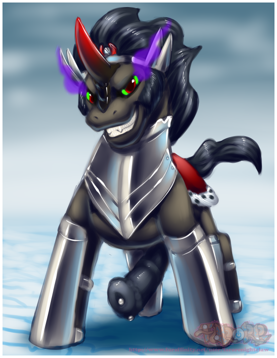 sombra mlp luna and king Touch the cow do it now meme