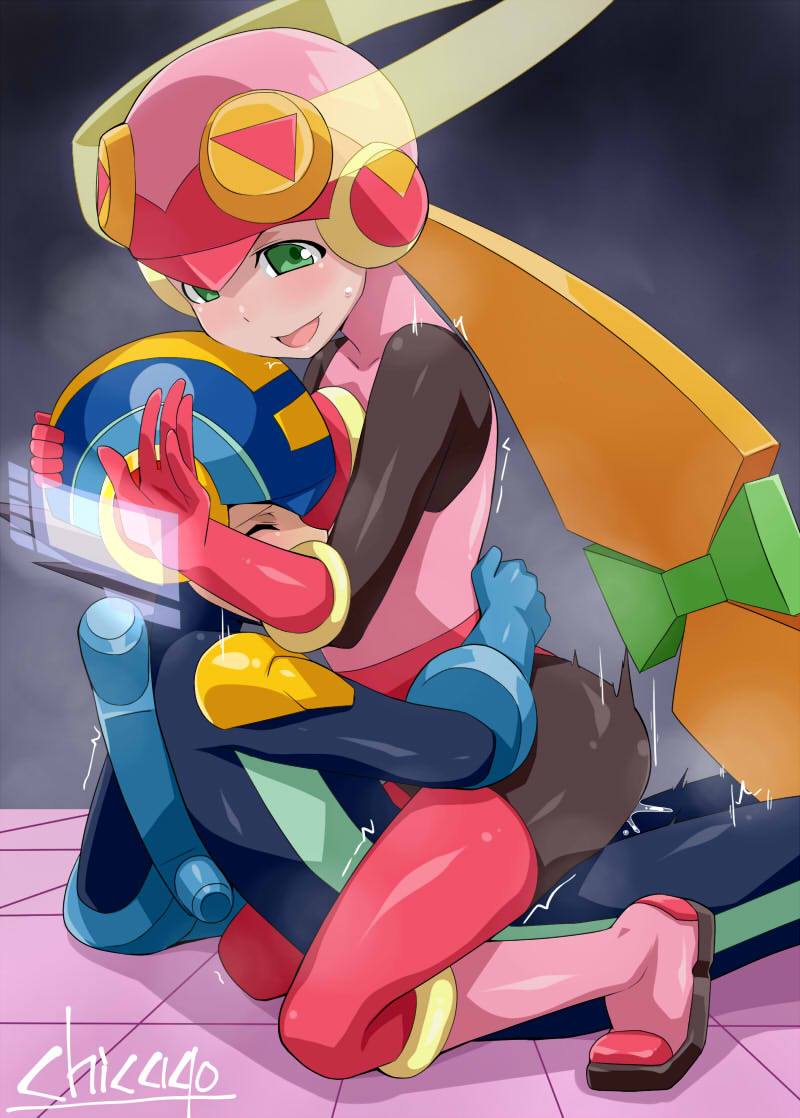 exe and roll megaman exe All the way through
