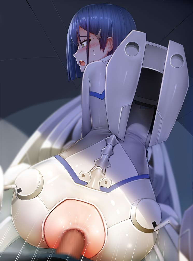 ichigo the gif in darling franxx How not to summon a demon lord rem galleu