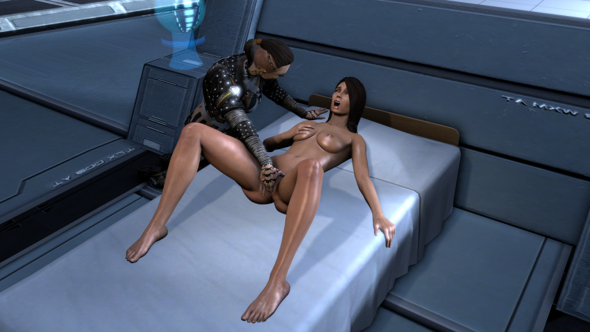 animated mass effect Bianca trials in tainted space