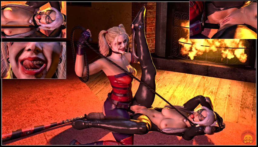 porn injustice quinn harley 2 Frozen sex fanfiction anna and kristoff
