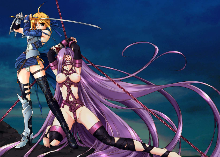 fate/stay hentai saber night The last airbender combustion man