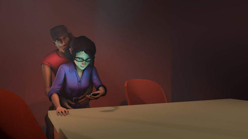 tf2 scout and pauling miss Final fantasy 10-2 paine