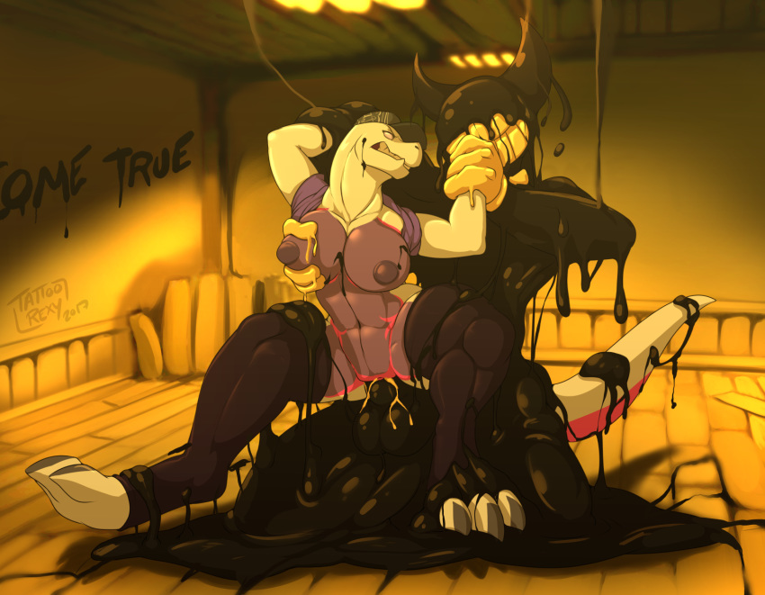 from bendy bendy and the machine images of ink Suisei no gargantia ledo and amy kiss