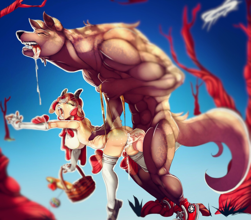 red vore little hood riding All dogs go to heaven sasha